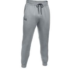 Under Armour Storm Men's Fleece Jogger Pants, Sweatpants Light Gray - 3XL $59.99