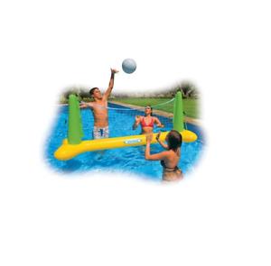 Intex Pool Volleyball Spielset Spielzeug Kinderbadespaß Wasserspielzeug 56508
