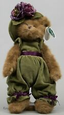 "The Bearington Collection 14"" Charlotte Chapeau Teddy Bear 179935 NWT"