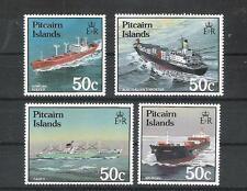 Ships Pitcairn Islands 289 - 92 (MNH)