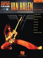 Van Halen 1978-1984 Sheet Music Guitar Play-Along Book and Audio 000110269