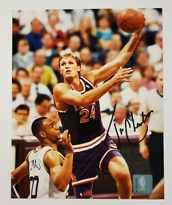 TOM CHAMBERS  Phoenix Suns Action SIGNED 8x10 Autograph