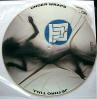 "MINT! JETHRO TULL UNDER WRAPS 12"" VINYL PIC PICTURE DISC"