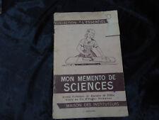mon mémento de sciences-j.anscombre-1964