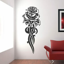Wandtattoo Wandaufkleber Tribal Rose Tattoo - W124