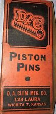 RUN Good!!!!!  +++ Vintage NOS DAC Pistion Pins +++ !!  (with TLC)