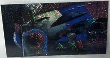 1996 Topps Mars Attacks Holo-Foil widevision MA-1 Card NM/VF 4 3/4x 2 1/2