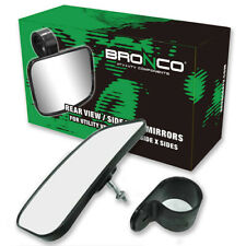 "Bronco UTV SXS Rear OR Side View Mirror 1.5""-1.75"" Cage Mount AT-12193"