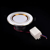 ultra thin led downlight lamp ceiling recessed grid slim round panel light HT
