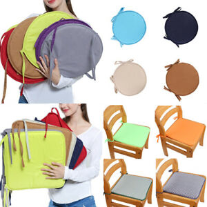 Round/Square Chair Pad Removeable Seat Cushion Circular Chair Cushions Multisize