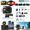 "2"" ultra HD 16MP Helm Action Kamera Sport 4K DV WiFi Cam 30m wasserdicht gehen"