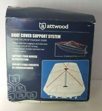 NEW Attwood Marine Boat Cover Support System ~ Boats Up to 22' Long ~ #11886-4