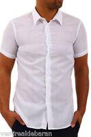Camicia Uomo Maniche Corte Shirt ABSOLUT JOY  W8350000-B551 Tg M