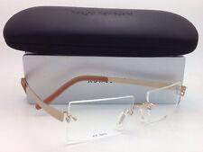 Brand New KAZUO KAWASAKI Titanium Eyeglasses MP 704 11 SP/51 Rimless Gold Frames