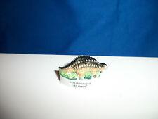 Scelidosaurus Miniature Figurine Dinosaur French Porcelain Feves Epiphany Figure