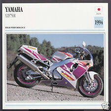 1994 Yamaha YZF750R 750cc R (749cc) Japan Bike Motorcycle Photo Spec Info Card
