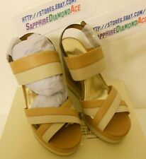 COACH GAILE WEDGE Camel Platform Shoes Heels  A8015  Size 11 M BRAND NEW!