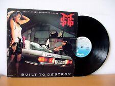 MICHAEL SCHENKER GROUP Built To Destroy PROMO LP 1983 (CHRYSALIS FV4 1441) UFO
