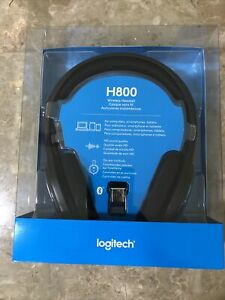 Authentic Logitech H800 Bluetooth Wireless Headset (981-000337) Brand New
