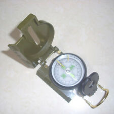 Pocket Army Style Compass Military Camping Hiking Mini Survival Marching New US