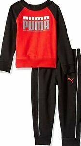PUMA Boys 2-Pcs Fleece Set  (Ages 5-8 years)