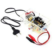 1PCS LM317 1.25V-12V Adjustable Regulated Voltage Power Supply US Plug DIY Kits