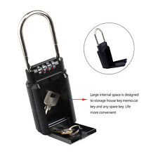 Portable Key Safe Storage Box Security Combination Lock for Realtor Outdoor A27R