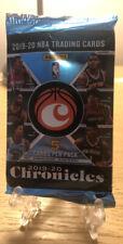 Panini Prizm 2019-20 Chronicles Basketball Sealed Pack *2 FREE BONUS CARDS! *🔥