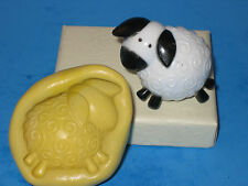 Lamb Sheep Silicone Push Mold Flexible Resin Clay Candy Food A438 Resin Candy