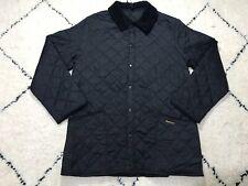 Barbour Quilted Jacket LIDDESDALE JKT Coat men's vintage black size L