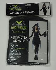 Totally Ghoul Women's Wicked Beauty Collar Vest NEW Halloween Costume Adult