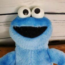 "Cookie Monster Sesame Street Blue Plush 9"" Hasbro"