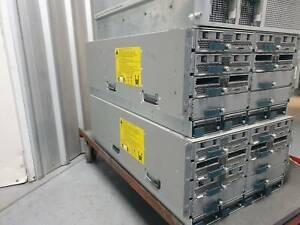 BULK CISCO UCS 5108 BLADE SERVER WITH FIBRE UCS B200 M3 AND 2208XP RACK STORAGE