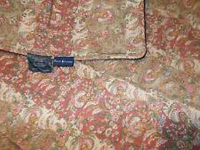 Ralph Lauren Hearthside Floral Queen Full Comforter Linen Blend Squires Path