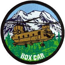 US ARMY B COMPANY 1-168 AVIATION PATCH - BOXCAR