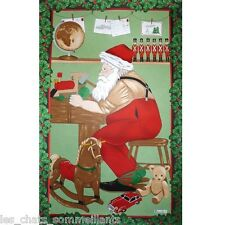 BEAUVILLE ATELIER DU PERE NOEL (SANTA'S WORKSHOP) FRENCH KITCHEN / TEA TOWEL NEW