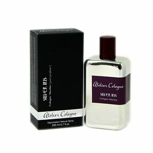 ATELIER COLOGNE SILVER IRIS ABSOLUE 200ML PURE PERFUME UNISEX NEW SEALED BOX.