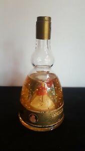 Ancienne bouteille musicale ballerina lucas Bols paillettes d'or