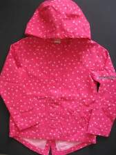 Gymboree Bright Ideas Jacket 7-8 New Pink Hooded Spring Summer Coat Girls Twins