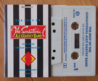SENSATIONAL ALEX HARVEY BAND - BEST OF (K-TEL CE2368) 1987 UK CASSETTE TAPE VG+