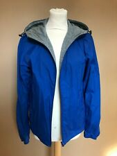 UNIQLO BLUE GREY REVERSIBLE HOODED JACKET XS