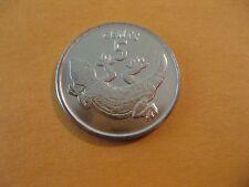 "1979 Kiribati Coin 5 Cents   ""TOKAI LIZARD""  uncirculated beauty dragon cion"