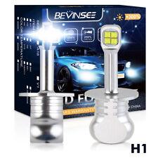 Bevinsee H1 LED Fog Light Kit Bulbs White Fits For BMW 320i 325i 325is 1993-1995