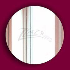 (1 Pair) 2-Way Mirror Acrylic Goggle Lenses See-Thru Plexiglas Surveillance Disc