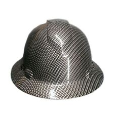 Silver Carbon Fiber Pyramex Ridgeline Hard Hat