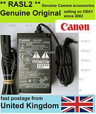 Original Canon CA-570 Power Adapter Charger M306 M307 HF10 S10 HR10 DC320 DC310