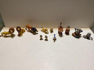 Vintage  Disney Classics - Lion King - Figure Lot of 12