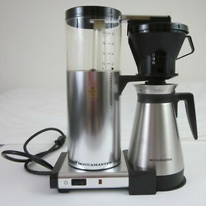 Technivorm Moccamaster CDT Coffee Maker - Chrome