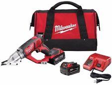 Milwaukee 2635-22 18 Cordless 18 Gauge Double Cut Shear Kit - In Stock