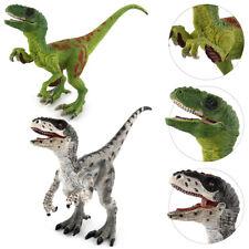 Velociraptor Dinosaur Dino Replica Animal Figure Jurassic Model Kids Toy Gift